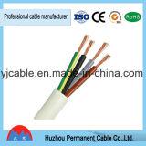 Conduttore di rame puro del fodero del PVC del cavo di Rvv