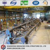 Costruzione del fascio del tubo della struttura d'acciaio per l'autostazione