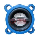 Резин-Coated двойной задерживающий клапан вафли диска