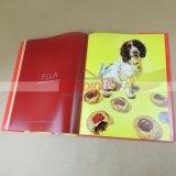 Impression professionnelle de livre de dos de papier d'imprimerie de livre de livre À couverture dure