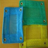 Verde, blu, rete 100% di sicurezza della costruzione del PE del Virgin