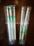 Alta qualidade OPP Embalagem plástica descartável Talheres Bambu Chopsticks
