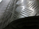 Estera de goma antirresbaladiza del suelo de Arabesquitic de la placa de calidad superior del inspector