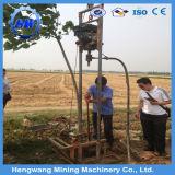 Pequeña plataforma de perforación los 80m profunda hidráulica rotatoria del receptor de papel de agua