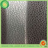 벽 Decoration Panel Wholesale 201 1.2mm Embossed Stainless Steel Sheet 0.4mm Mirror Embossed Stainless Steel Sheet