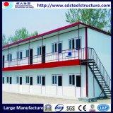 Casa prefabricada del marco de la estructura de acero de la luz del bajo costo para el trabajador Domitory