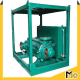 수평한 원심 다단식 펌프 구조 깨끗한 물 펌프
