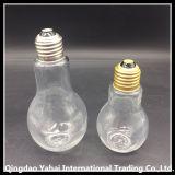 Impostare la bottiglia di memoria della lampadina di vetro con il coperchio