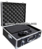 Cassa di alluminio dura di trasporto del metallo di corsa della macchina fotografica di Zeikos Tool/SLR/Pyc-208 Cartella-Nero