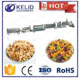 Linha de produção nova dos cereais do pequeno almoço de Kelloggs do projeto da condição nova