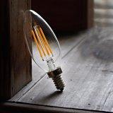 Bulbo de Edison da ampola da vela do bulbo E14 do filamento do diodo emissor de luz