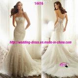 Венчание платья сказки мечт Bridal с шнурует вверх