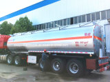 3 Eixos Fuel Tank Semi Trailer Trailer Tanker 55000 Litros