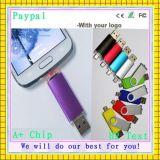 최신 주문 플라스틱 USB 섬광 드라이브 (GC-P845)
