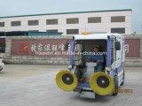 Toda a máquina elétrica fechado do caminhão da vassoura da limpeza da estrada para a venda