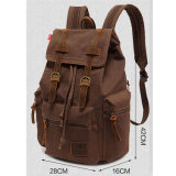 La lona barata al por mayor empaqueta la escuela unisex de la mochila del morral de la lona que va de excursión el bolso