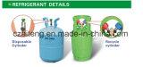Gás de refrigerante (R134A)