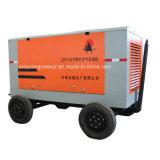 Beweglicher gefahrener Schrauben-Dieselluftverdichter