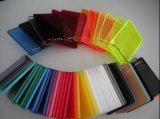 Hoja de acrílico 10m m del plexiglás del color de la alta calidad