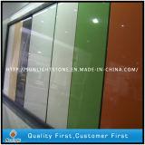 Los colores puros/del amarillo/del negro/del gris/White/Crystal/Pink/Green/Red dirigieron la piedra artificial superficial sólida del cuarzo de la cuarcita