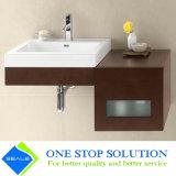 Gabinete interno da vaidade do banheiro do revestimento da laca da cor vermelha (ZY 3003)