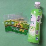 Стикер Shrink жары любимчика PVC для бутылки воды