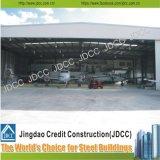 Hangar prefabricado del aeroplano de la estructura de acero del superventas profesional y