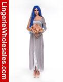 Сексуальный Costume Cosplay духа невесты привидения платья партии Halloween женщин