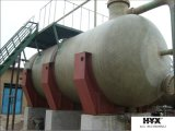 Horizontal tanque de FRP para químicos o agua