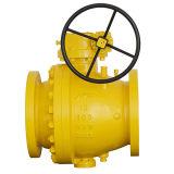 Шариковый клапан трубопровода фланца нержавеющей стали или кованой стали Trunnion