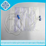 Beutel des Urin-2000ml/Entwässerung-Behälter mit T-Ventil