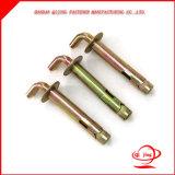 Attache de plaque plate d'acier inoxydable/acier du carbone avec le boulon d'anchrage de qualité avec le prix concurrentiel