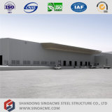 Construction centrale logistique de bâti de l'espace de grande envergure