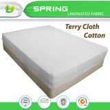 Cubiertas suaves y respirables del nuevo diseño 2017 de Terry del paño del algodón de colchón