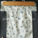 Arrivée estampée et teinte de tissu Pocket de garniture de T/C