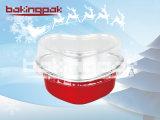 Involucro di alluminio di qualità superiore Heart-Shaped della torta di cottura per natale e la cerimonia nuziale