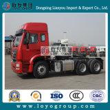 De Slepende Vrachtwagen van de Vrachtwagen 380HP van de Tractor van Hohan van Sinotruk 6X4 voor Verkoop