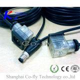 Waterdichte Actuator van de Sensor Splitser 4 van de Schakelaar Y de Kabel van de Stop van de Speld M12
