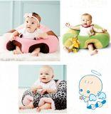 カスタム赤ん坊の椅子のプラシ天は赤ん坊のための椅子によって詰められる椅子を坐らせる