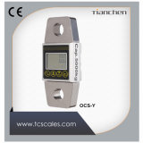 Dinamômetro eletrônico do indicador 5000kg do LCD