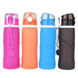 Breit-Mund im Freiensport mehrfachverwendbares BPA gibt Silikon-Wasser-Flasche frei