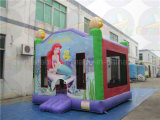 Castello di salto gonfiabile del grado commerciale con divertimento