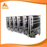 Fácil a plegable la etapa de aluminio del funcionamiento de la etapa potable al aire libre