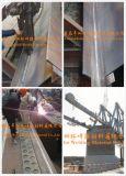 El flux de soldadura aglomerado y consideró el alambre de soldadura para el edificio de puente