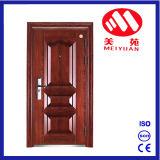 Porte en acier de garantie pour la porte extérieure d'appartement