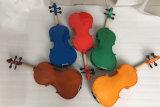 Le meilleur violon de couleur d'usine de violon d'instruments de musique à vendre