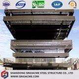 Construction commerciale personnalisée de bâti en acier pour le gratte-ciel