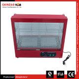 Elektrischer Gegenoberseite-Nahrungsmittelwärmer-Schaukasten-Schnellimbiß Zsg-50-3