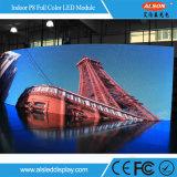 P8 Flexibele LEIDENE van de Kleur van HD de Volledige Module van de Vertoning met FCC, Ce, Rochs