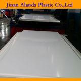 Panneau libre de mousse de surface de blanc plein de PVC